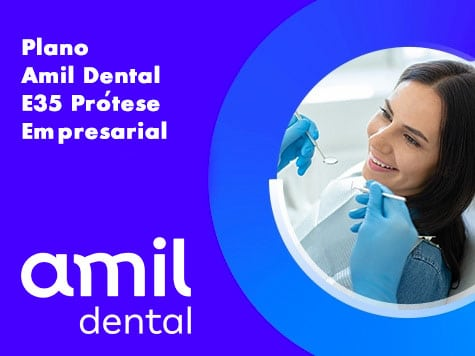 Plano Amil Dental E35 Protese PME