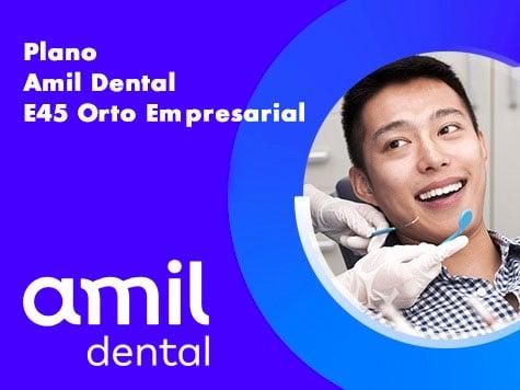 plano amil dental e45 orto empresarial